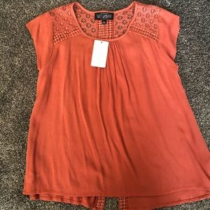 BRAND NEW dress top with great detailing